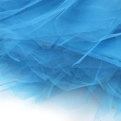 ballet Courte Tutu Pettiskirt Plisse Femmes en Gaze Princesse Couche Robe Jupe14 bulles Bouffe 3 court Mini tulle Adulte SB Danse Couleurs Vintage PlissJupe D'lastique xIIY6qn
