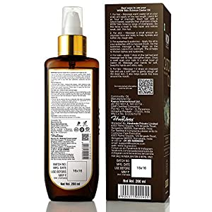 WOW Skin Science 100% Pure Castor Oil – Cold Pressed – For Stronger Hair, Skin & Nails – No Mineral Oil & Silicones, 200…