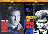 Jack Ryan Tom Clancy Harrison Ford Political Action Thriller 2-Movie Collection - Clear and Present Danger & Patriot Games 2-DVD Bundle