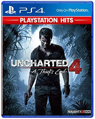Sony Uncharted 4 English Jacket Playstation Hits Ps4