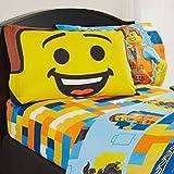 Lego The Movie (PILLOWCASE ONLY) Standard Size Boys Girls Kids Bedding