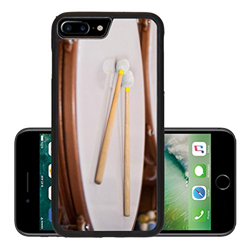 - Luxlady Premium Apple iPhone 7 Plus Aluminum Backplate Bumper Snap Case iPhone7 Plus IMAGE 19677019 Drum sticks lying on the timpani