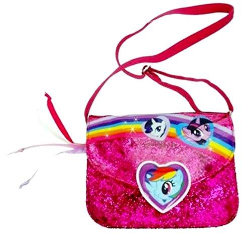 My Little Pony–Super Niedlicher Pinkie Pie mit Reißverschluss Kinder Handtasche/Tasche Geschenk