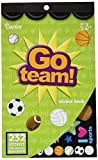Darice 106-2286 232Piece, Go Team Themed Sticker Book
