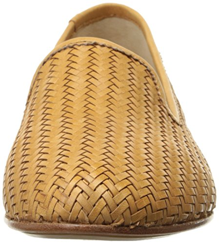 Full mujer Tracy Tan Soft la tejida Mocasines Leather Zapatillas de Woven Frye Grain qvwIgg
