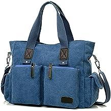 ToLFE Women Top Handle Satchel Handbags Shoulder Bag Messenger Tote Bag Purse Crossbody Bag Travel Work Tote Bag