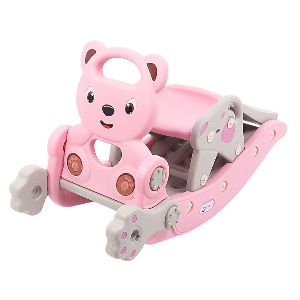 子供ロッキングホース環境保護PE素材ロッキングホース赤ちゃん知育玩具ベビーロッキングクレードル   B07MW2MD91
