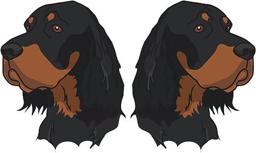 ventana de Arte para Decoración de Pared Calcomanía Negro Cocker Mascotas Coche Decal Sticker parachoques