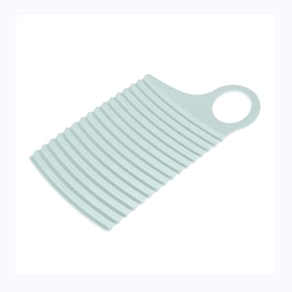 YALIN - Mini Tabla de Lavar, portátil, de plástico, Suave, para Ropa