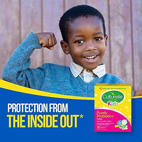 51 Bzi6vN5L. AC - Culturelle Kids Packets Daily Probiotic Supplement | Helps Support A Healthy Immune & Digestive System* | #1 Pediatrician Recommended Brand††† | 30 Single Packets | Package May Vary