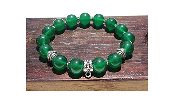 4th  Heart-Chakra Bracelet Meditation bracelet. Reiki Healing Bracelet Tree of Life Bracelet,Green Jade bracelet,Yoga Bracelet