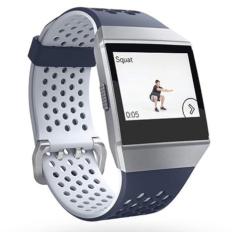 qzp Reloj Inteligente Pulsador De Natación con Ritmo Cardíaco Fitness GPS Apple Android,Customized(