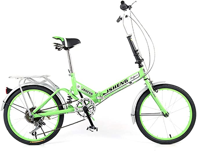 XINGXINGNS Plegable Bicicleta de Montaña, 20 Pulgadas Bicicleta de ...