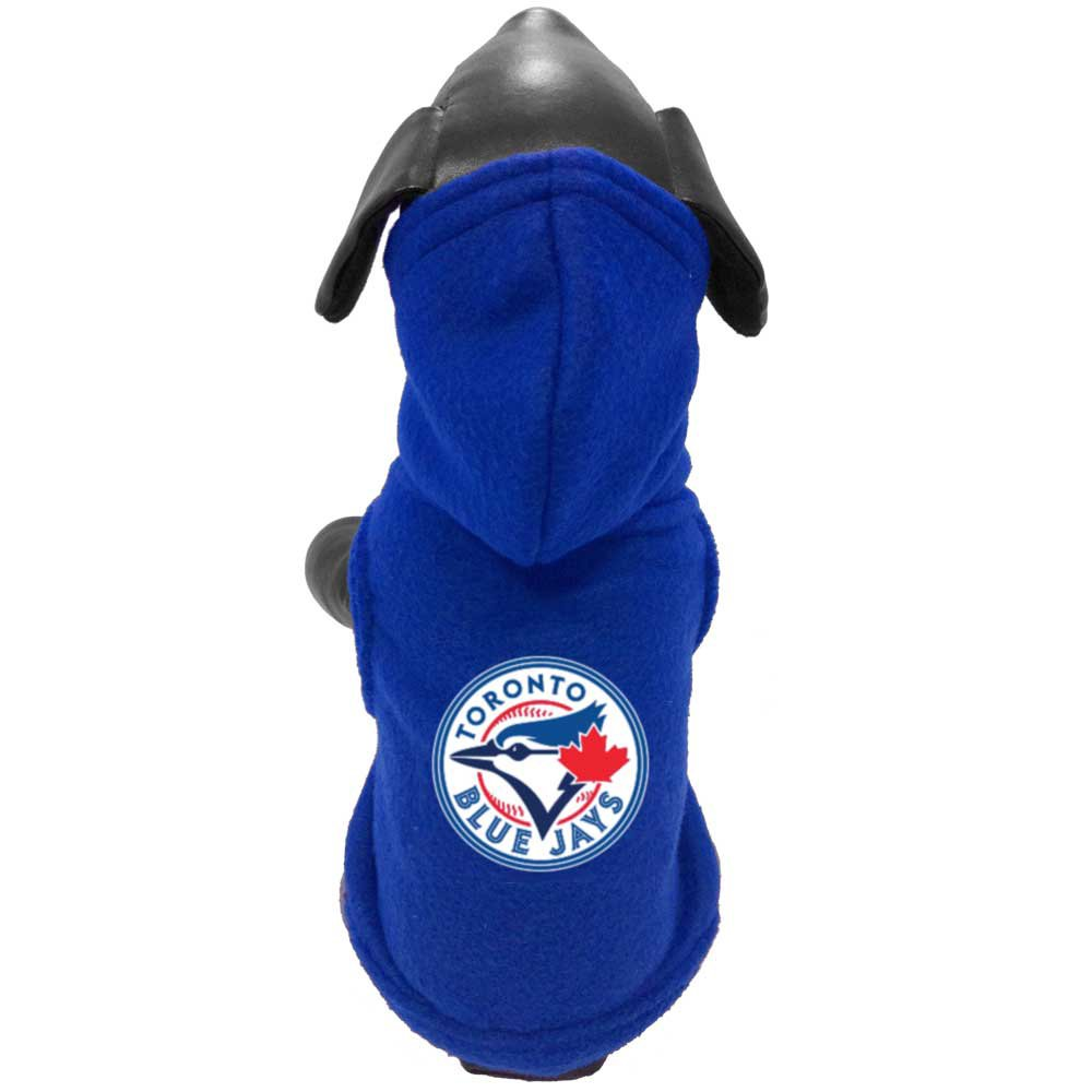All Star Dogs Official Toronto Blue Jays Polar Fleece Hoodie, Medium Lambert Vet Supply 693767