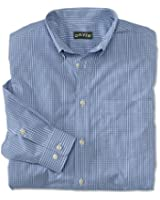 Orvis Men's Ez-cool Poplin Mini-check Long-sleeved Shirt