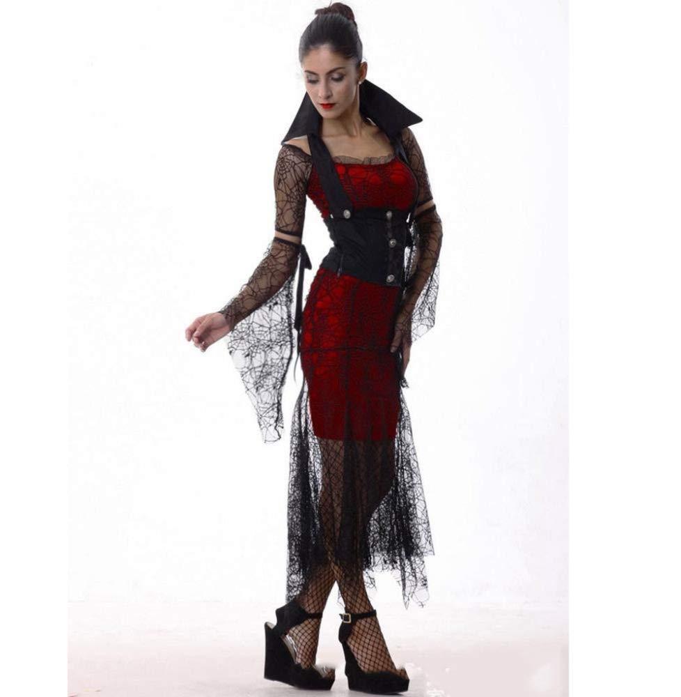 Yunfeng Hexenkostüm Damen Hexenkostüm Damen Kleid-Kostüme Halloween Kostüme Königin Hexe Kostüm