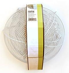 RSVP 3-Tier Hanging Basket (White)
