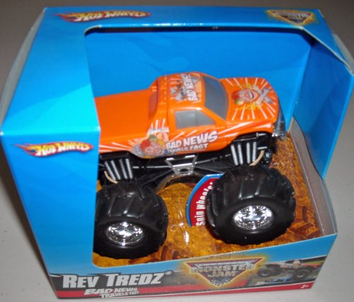 2014 Monster Jam -Tasmanian Devil 1:43 Off-road Rev Tredz Ve