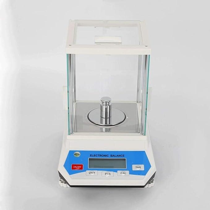 LYC Balanzas Analíticas Digitales de Laboratorio, 0.001g Multifunción Cocina Báscula para Pesaje de Precisión d (Size : 100gx0.001g): Amazon.es: Hogar