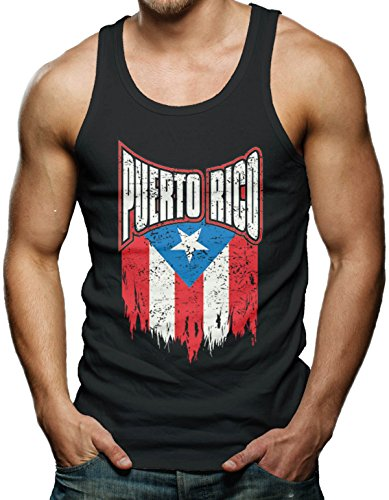 Puerto Rico Distressed Flag T shirt product image