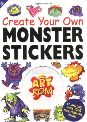 Create Your Own Monster Stickers (The Art Rom) ebook