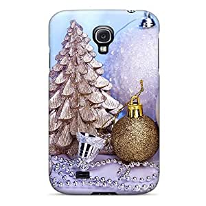 High Impact Dirt shock Proof Case Cover For Galaxy S4 christmas And Happy New Year Christmas Decoration Design for Fashion Unique BT-SB personality case