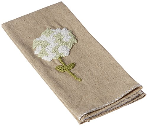 Hydrangea Decorative Towel Green