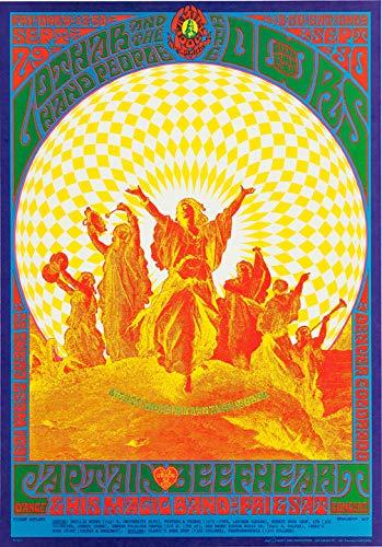 The Doors Denver Concert Poster Replica 13 X 19 Photo Print