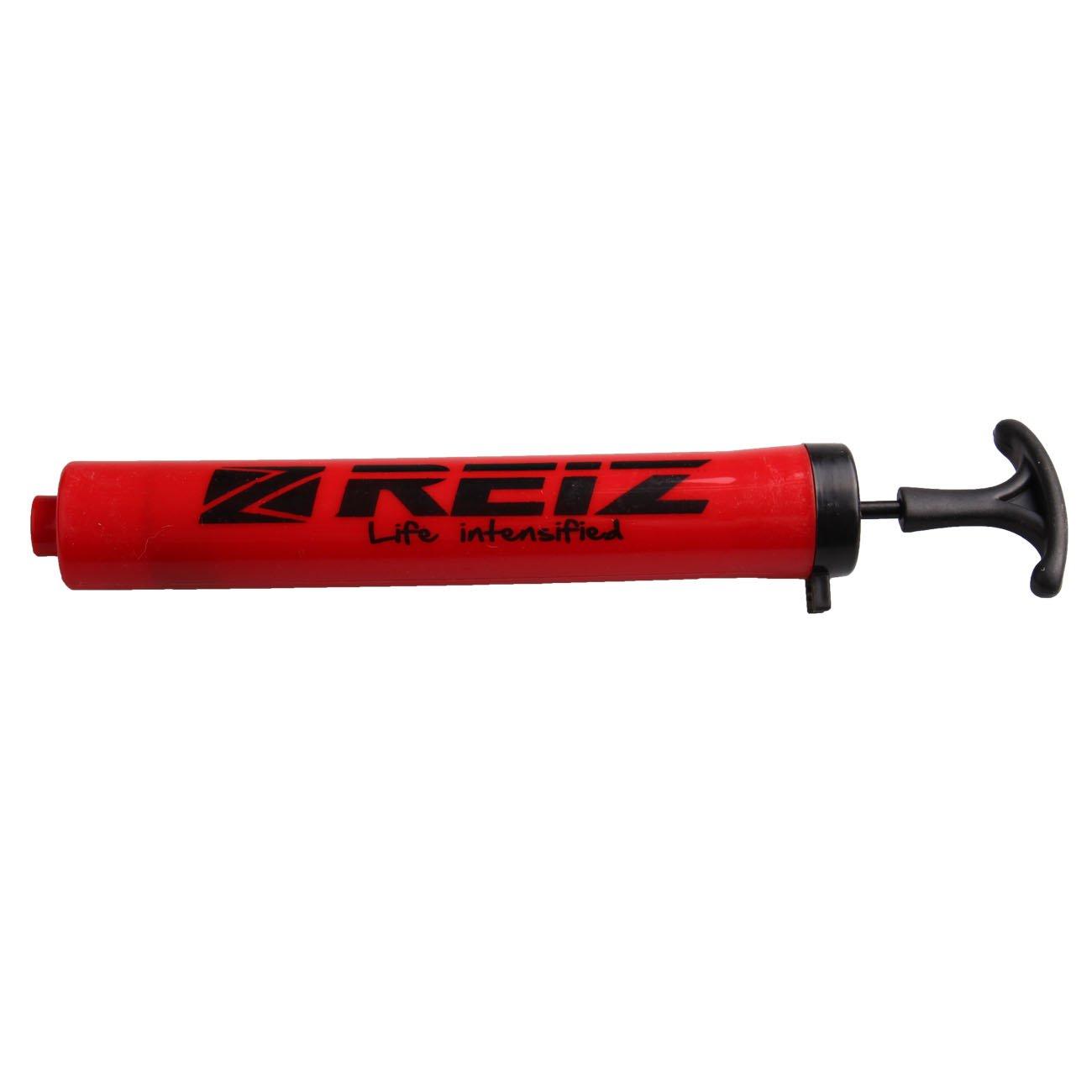 REIZ 10-inch Mini Portable Ball Pump Inflator Air Tools Hand Pumps Plastic 040