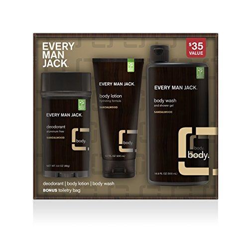 Price comparison product image Every Man Jack Body Kit, Sandalwood