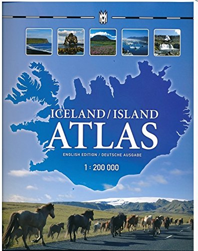 Wegenatlas - Atlas Iceland/Island Atlas