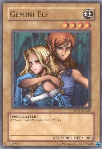 Yu-Gi-Oh! - Gemini Elf (RP02-EN026) - Retro Pack 2 - Unlimited Edition - Common