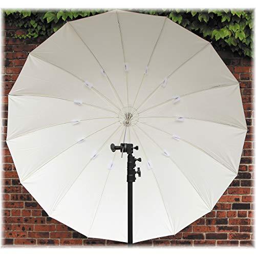 Impact 7' Improved Parabolic Umbrella (White/Black) by Impact (Image #2)