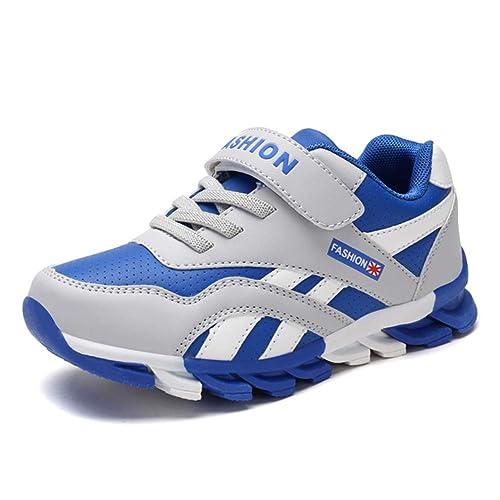 64d13e708403f Yi Buy Zapatillas para Niños Calzado Deportivo de Velcro Zapatos Ligero  Trainers para Niños y Adolescentes 29-39 EU  Amazon.es  Zapatos y  complementos