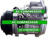 GOWE AC COMPRESSOR FOR DENSO 10PA17C AC COMPRESSOR FOR CAR MERCEDES-BENZ W126 AIR CONDITIONING COMPRESSOR 6PK 120MM