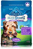 Blue Buffalo Blue Bones Mini Size Dental Chews for Dogs 5-15 lbs, 27 Ounce Value Pack, (Packaging May Vary)