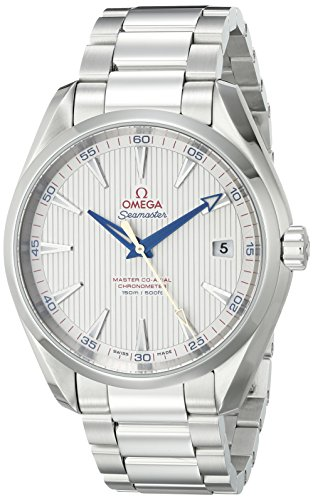 Omega Men's 23110422102004 Seamaster150 Analog Display Swiss Automatic Silver Watch