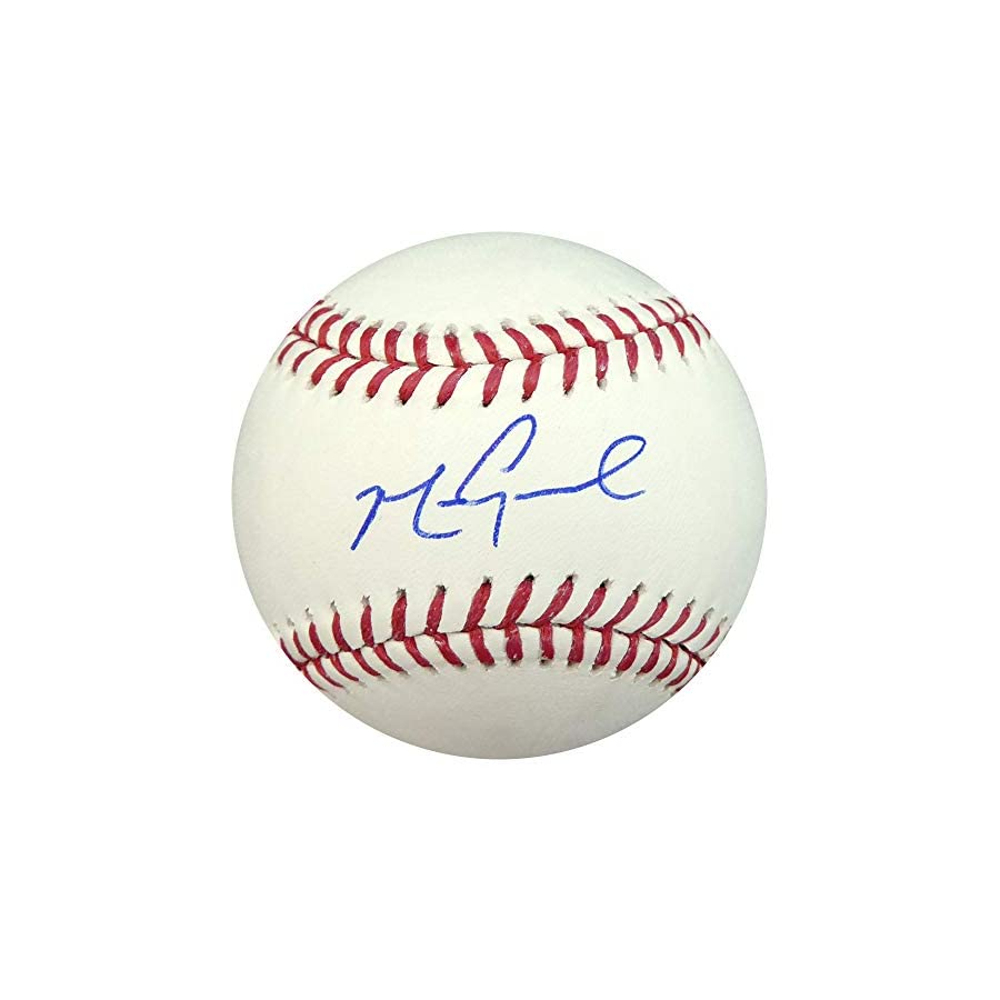 MARK GRACE AUTOGRAPHED OFFICIAL MLB BASEBALL CHICAGO CUBS JSA STOCK #137961