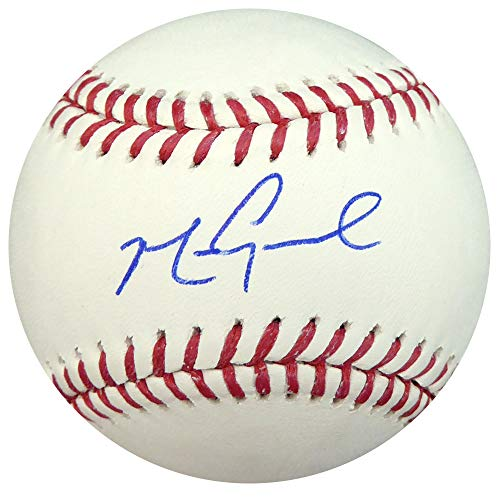 MARK GRACE AUTOGRAPHED OFFICIAL MLB BASEBALL CHICAGO CUBS JSA STOCK #137961 (Cubs Baseball Mlb Autographed)