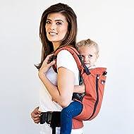 LÍLLÉbaby 3 in 1 CarryOn All Seasons Toddler Carrier, My LÍLLÉ Pumpkin
