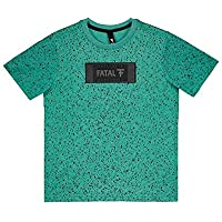 Camiseta Fatal Seja Mais Estampada Juvenil Verde