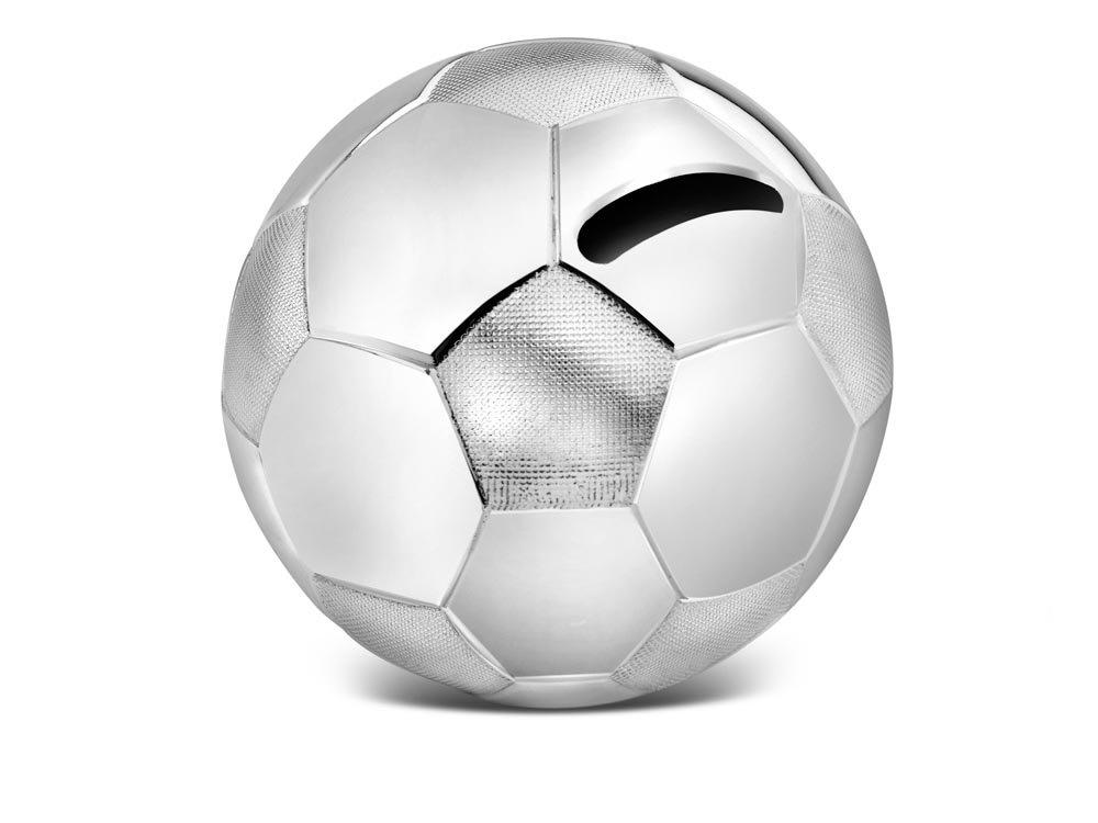 Zilverstad A6007260 - Hucha de Pelota de fútbol: Amazon.es: Hogar