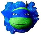 Teenage Mutant Ninja Turtles Bath Accessories Bath Pouf with Teenage Mutant Ninja Turtles Body Wash to Compliment Perfect Holiday Gift (Leonardo)