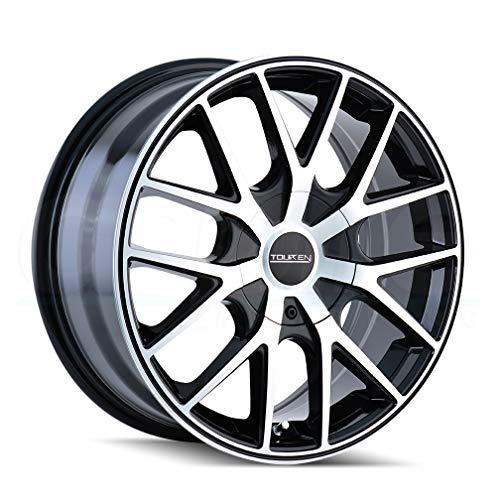 "Touren TR60 3260 Black Wheel with Machined Face (18x8""/5x108mm)"