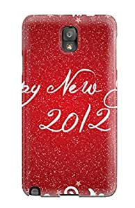 For Galaxy Case, High Quality Happy New Year 2012 For Galaxy Note 3 Cover Cases