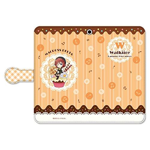 ぴくりる!  マクロスΔ 手帳型スマートフォンケース スイートポップ ワルキューレ カナメ・バッカニアの商品画像