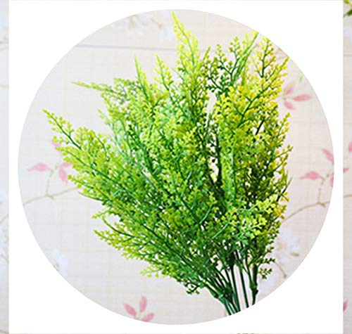 2019 New 5 Types Artificial Grasses Plastic Plant Fake Grass Home Decoration Flowers Direct Sold by Factory,05