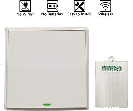 CoolClassic - Interruptor inalámbrico de generación automática ...