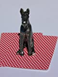 Poker Weight Donkey Figurine Guard Card Cover
