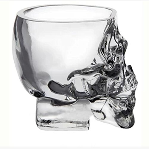 Temall-Crystal-Skull-Pirate-Shot-Glass-Drink-Cocktail-Beer-Cup-25oz-Set-of-4